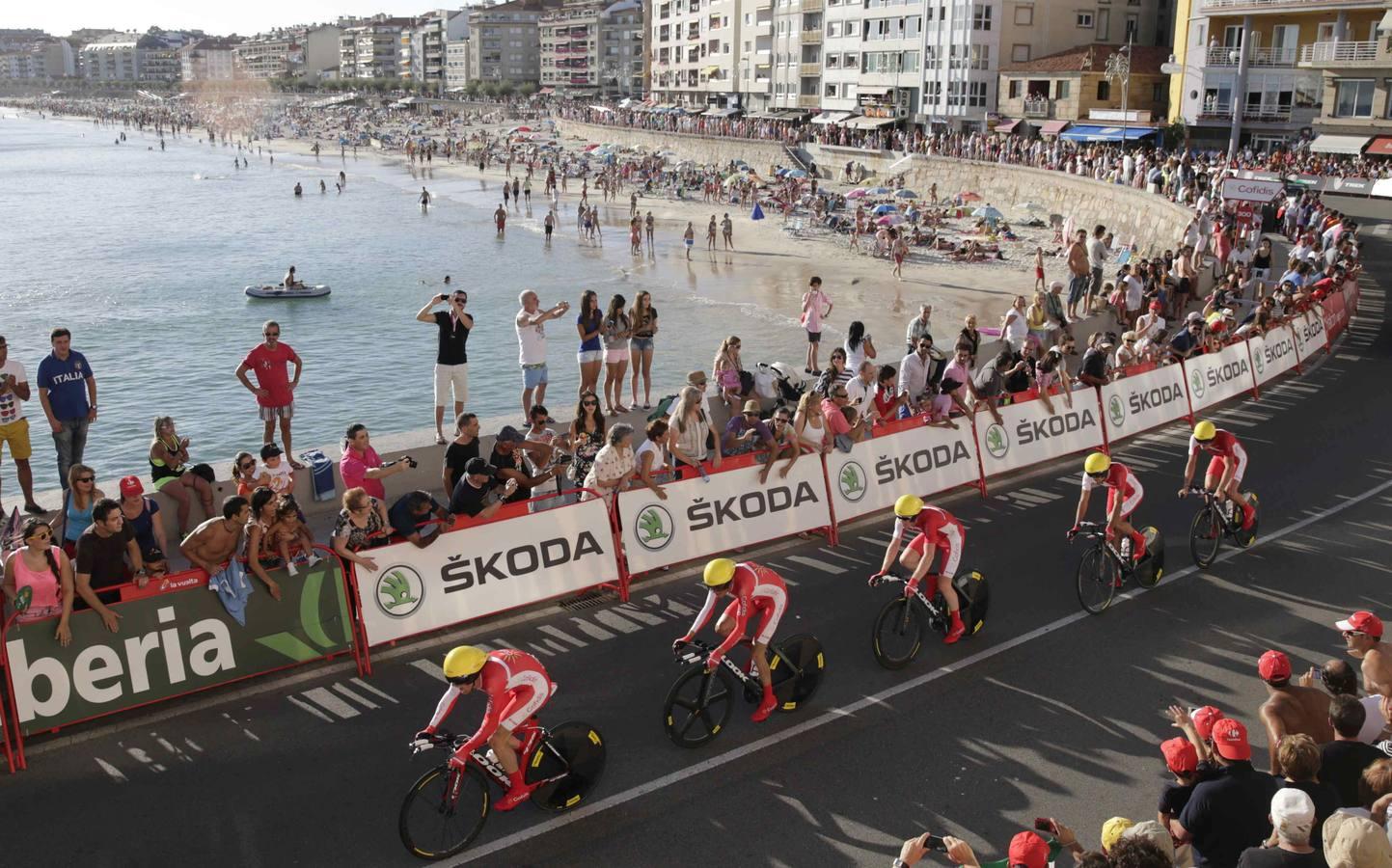 Brajkovic, primer líder de la Vuelta