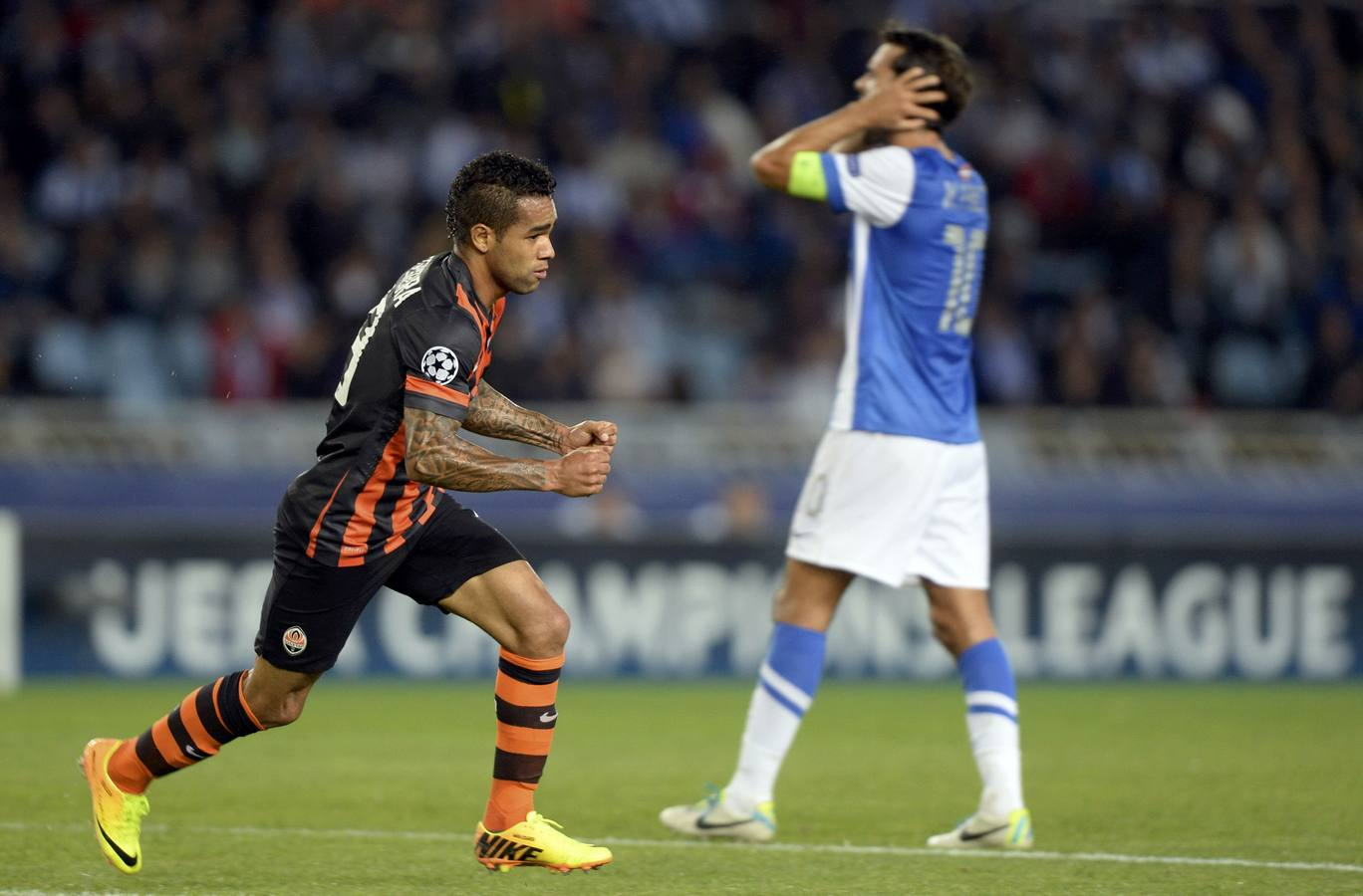 La Real vuelve a la 'Champions' con derrota