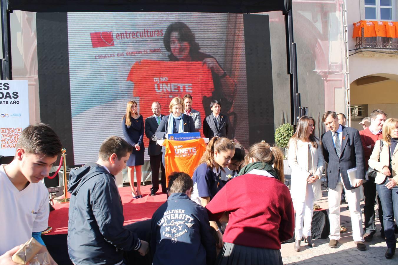 Campaña 'Únete contra la violencia de género'