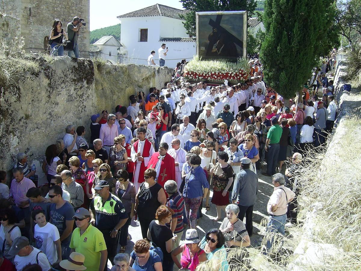 Imágenes de la procesión y la romería del Cristo del Paño