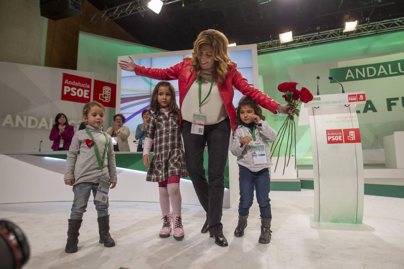 Susana Díaz, estrella del Congreso del PSOE-A