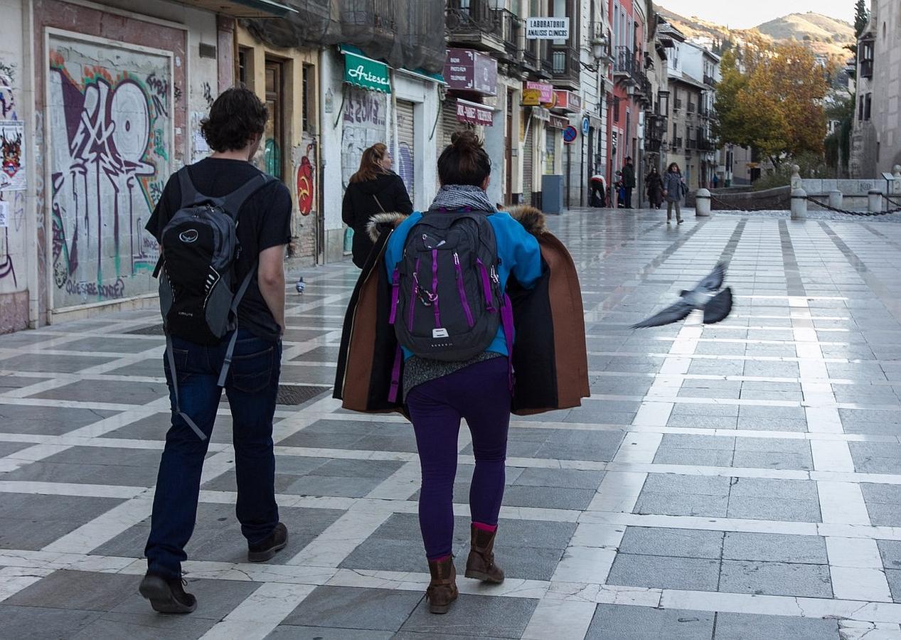 Granada: gorro, bufanda y guantes