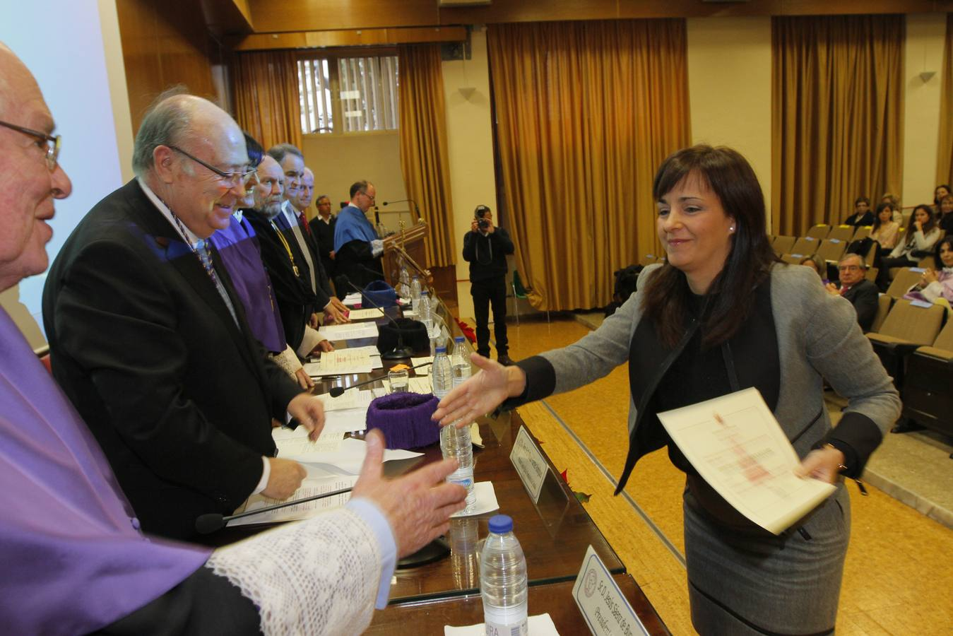 Entrega de premios y medallas de la Facultad de Farmacia