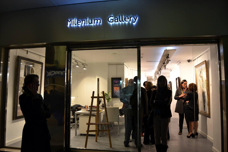 Siete magníficos estrenan Gallery Millenium