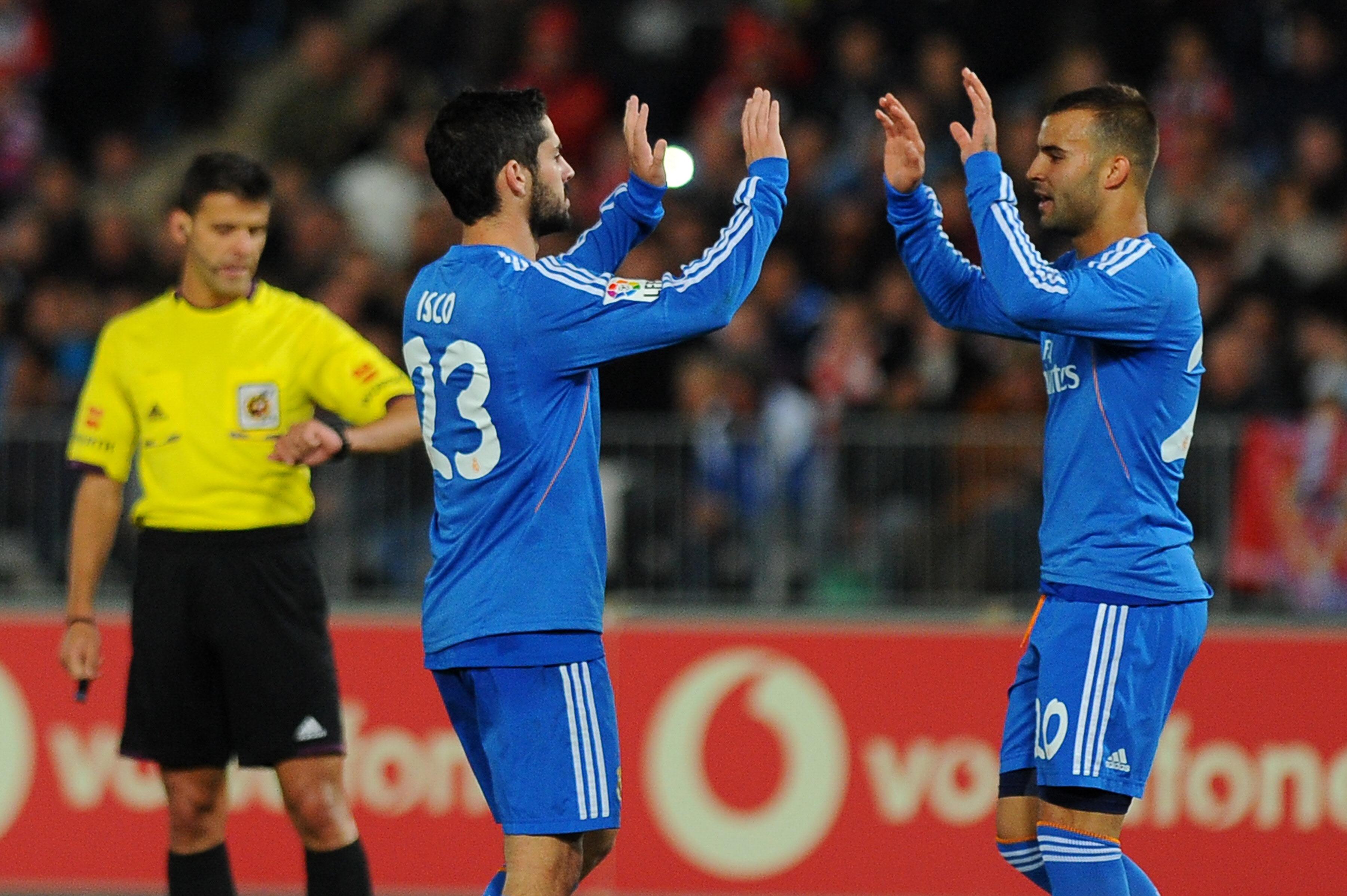 El Madrid golea en Almería